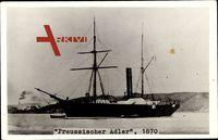 Deutsches Kriegsschiff, Preußischer Adler, 1870