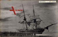 Deutsches Segelschiff, Undine, 1870, Verschollen 1884