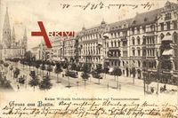 Berlin Charlottenburg, Kaiser Wilhelm Gedächtniskirche, Tauentzienstraße