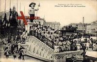 Nice Nizza Alpes Maritimes, Carnaval, Char le Maître de la Lumière