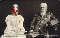 Großherzogin Luise und Großherzog Friedrich von Baden