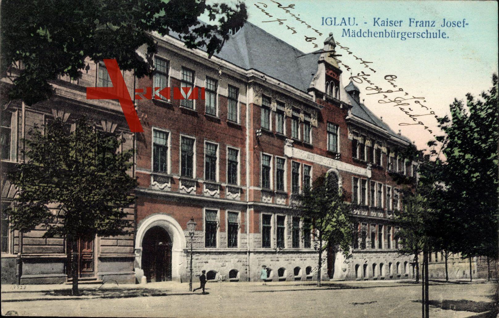Jihlava Iglau Region Hochland, Kaiser Franz Josef Mädchenbürgerschule