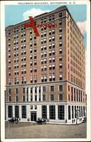 Rochester New York USA, Columbus Building, Street view