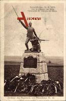 Schlachtfeld, 16 08 1870, Regiment von Alvensleben 52, Denkmal