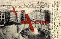 Köln am Rhein, Barbarossa Platz und Luxemburgerstraße, Brunnen