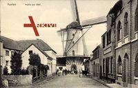 Xanten am Niederrhein, Blick auf die Mühle am Wall