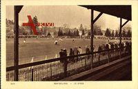 Montbéliard Doubs, Le Stade, Fußballspiel, Tribüne, Zuschauer