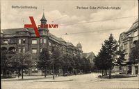 Berlin Lichtenberg, Blick in die Parkaue Ecke Möllendorfstraße
