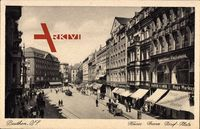 Bytom Beuthen Schlesien, Kaiser Franz Josef Platz, Teppichhaus Wachsmann