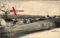 Courfaivre Kanton Jura, Totalansicht des Ortes