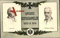 Fürst Otto von Bismarck, Theobald von Bethmann Hollweg, 1870, 1914, Stengel