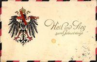 Glückwunsch Geburtstag, Heil und Sieg, Kaiserreich Patriotik