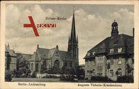Berlin Lichtenberg, Auguste Victoria Krankenhaus, Erlöster Kirche