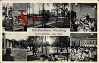 Berlin Zehlendorf Dahlem, Schullandheim Wedding, Clay Allee, Kinder