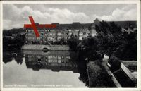 Berlin Weißensee, Woelck Promenade mit Anlagen und See