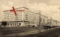 Berlin Friedrichshain, Karl Marx Allee, Am HO Café Warschau