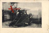 Erbeutete russische 15cm Kanone, Erster Weltkrieg
