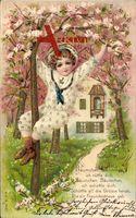 Bäumchen, Bäumchen, ich rüttle dich.., Frühling, Kirschblüten