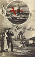 Seemannslos, Matrose, U Boot, PH Berlin 3239 5
