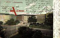 Berlin Friedrichshain, Blick auf den Küstrinerplatz