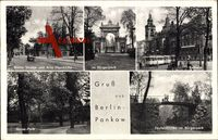 Berlin Pankow, Breite Straße, Pfarrkirche, Rathaus, Bürgerpark, Straßenbahn