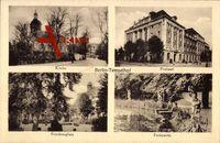 Berlin Tempelhof, Kirche, Postamt, Parkpartie, Friedensplatz