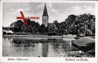 Berlin Tempelhof Lichtenrade, Dorfteich mit Kirche