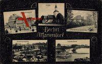 Berlin Tempelhof Mariendorf, Realgymnasium, Kirche, Pfarrhaus, Spielplatz