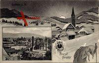 Hameln in Niedersachsen, Das neue und das alte Jahr, Panorama