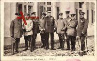 Offizierkorps Bat. Wahn I., 1914, Gruppenportrait, Uniformen, Säbel