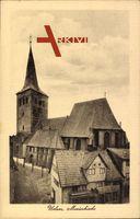 Uelzen Lüneburger Heide, Die Marienkirche mit Nebenhaus