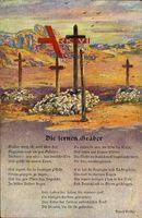 Gedicht Die fernen Gräber, Gräber weiß ich, weit über See.., Rudolf Presber