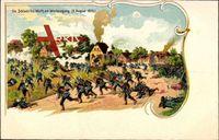 Die Schlacht bei Wörth am Westausgang, 06 August 1870