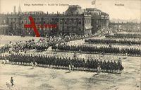 Potsdam a.d. Havel, Königl. Stadtschloss, Parade im Lustgarten