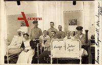 Oberhausen am Rhein Nordrhein Westfalen, Krankenhauszimmer, Soldaten