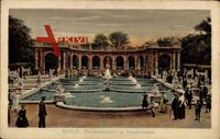 Berlin Friedrichshain, Partie am Märchenbrunnen im Volkspark