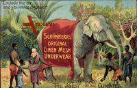 Schönheer's Original Linen Mesh Underwear, Unterhosen, Elefant, Afrika