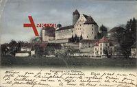 Porrentruy Pruntrut Kt. Jura, vue générale du Château