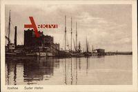 Itzehoe in Schleswig Holstein, Partie am Suder Hafen