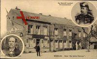 Bazeilles Ardennes, General Arsène Lambert, Haus Die letzten Patronen, Rocher