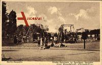 Berlin Neukölln, Kinderspielplatz im Sportpark Neukölln