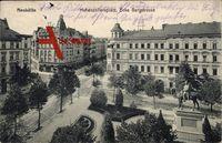 Berlin Neukölln, Hohenzollernplatz Ecke Bergstraße, Denkmal
