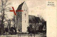 Berlin Tempelhof Marienfelde, Blick auf die Kirche