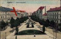 Berlin Neukölln, Blick auf den Hohenzollernplatz