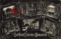 Berlin Neukölln, Berliner Unions Brauerei, Terrasse, Bühne