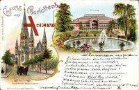 Berlin Charlottenburg, Kaiser Wilhelm Gedächtniskirche, Flora