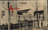 Berlin Pankow Buch, Blick auf das Lazarett, Außenansicht