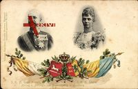 Ernst August von Hannover, Herzog von Cumberland, Frau Thyra
