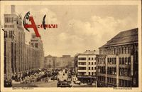 Berlin Neukölln, Partie am Hermannplatz, Ubahnhof