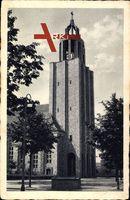 Berlin Tempelhof Mariendorf, Partie an der Neuen Kirche